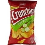 Чіпси картопляні зі смаком зеленої цибулі Crunchips 75г