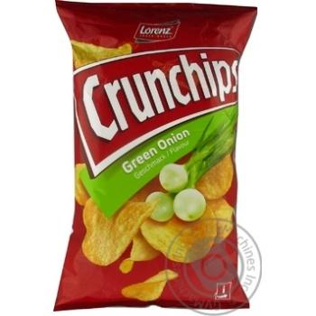 Чипсы картофельные Lorenz Crunchips Зеленый лук 75г