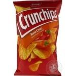 Чіпси картопляні зі смаком перцю чілі Crunchips 75г