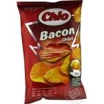 Чипсы Чио Чипс картофельные со вкусом бекона 75г Польша - купить, цены на Novus - фото 2