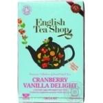 Чай трав. English Tea Shop клюкв-ванильн.наслажден 20*1,5г/уп