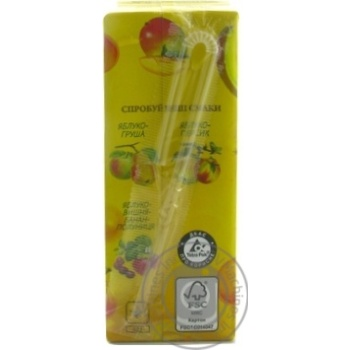 Сік Galicia Смузі Яблуко-Банан-Манго-Апельсин 200мл - купити, ціни на Метро - фото 5