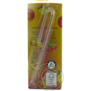 Смузі Galicia Яблуко-персик 0,2л - купити, ціни на Ашан - фото 4