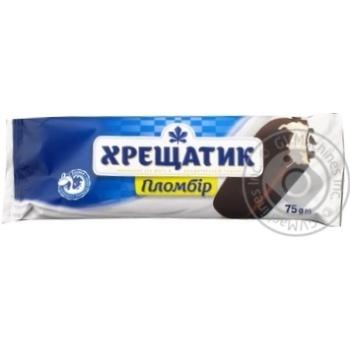 Khreshchatyk Plombir Ice-cream 75g - buy, prices for MegaMarket - image 1