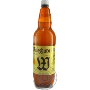 Пиво Уманьпиво Waissburg Blanche светлое 4,7% 1л
