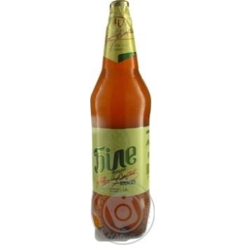 Пиво Чернігівське Біле світле нефільтроване 1,5л - купити, ціни на Novus - фото 3