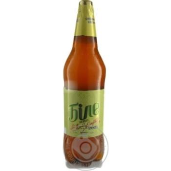 Пиво Чернігівське Біле світле нефільтроване 1,5л - купити, ціни на Novus - фото 2