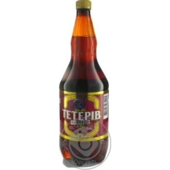 Пиво ППБ Тетерів Хмільна вишня напівтемне 8% 1,2л