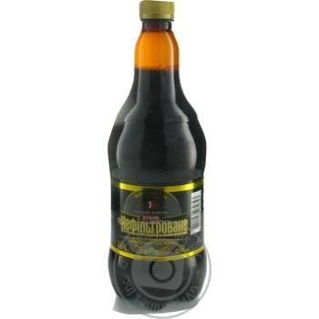 Скидка на Пиво специальное Перша приватна броварня Бочковое нефильтрованное темное 4,8% 0,9л