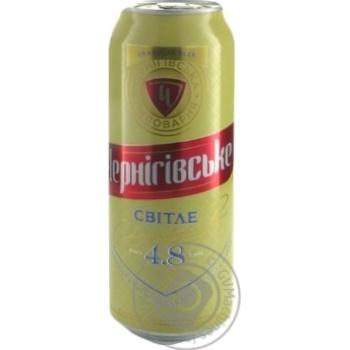 Пиво Черниговское светлое 0,5л ж/б