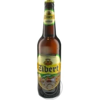 Пиво Zibert светлое 0,5л стекло
