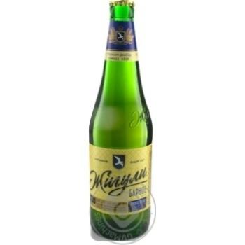 Пиво Жигули Барное Фирменное светлое фильтрованное пастеризованное 5%об. 500мл