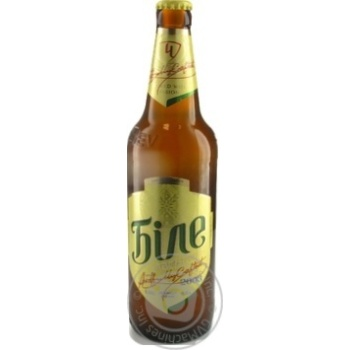 Пиво Черниговское Белое светлое нефильтрованное 0,5л стекло