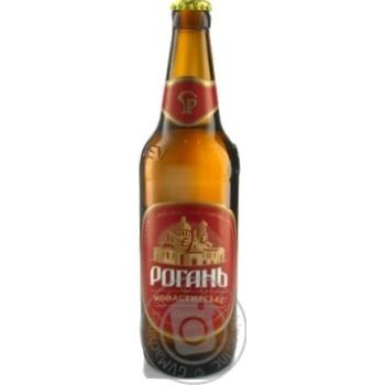 Пиво Рогань Монастырское светлое 0,5л