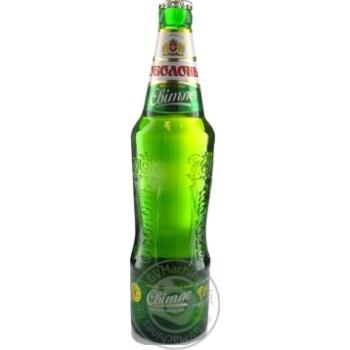 Пиво Оболонь світле 0,5л