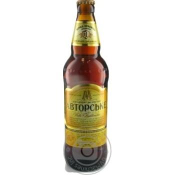 Пиво ППБ Авторское полутёмное 7% 0.5л - купить, цены на Novus - фото 2