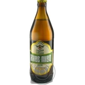 Пиво Ополье Класическое светлое 3.7% 0,5л