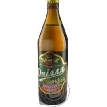 Пиво Опилля Корифей живое светлое 3.7%об. 0,5л