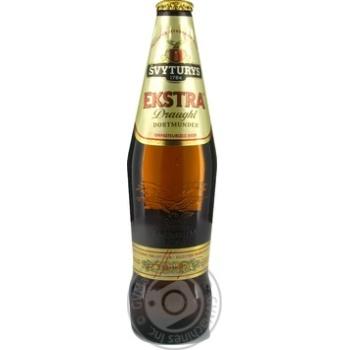 Пиво 5,2% світле фільтроване непастеризоване Ekstra Draught скло 0,5л