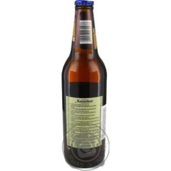 Пиво Kaiserdom Kellerbier полутемное пастеризованное 4,7 % 0,5л - купить, цены на Novus - фото 2