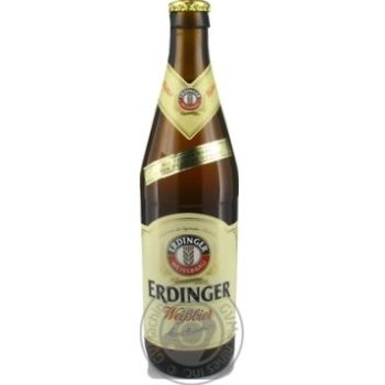 Пиво Erdinger пшеничное светлое 0,5л