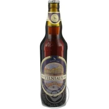 Vilniaus unfiltered dark beer 5,8% 0,5l - buy, prices for Novus - image 3