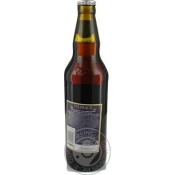 Пиво Vilniaus темне нефільтроване 5,8% 0,5л - купити, ціни на Novus - фото 2