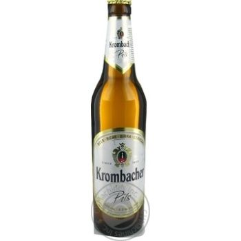 Пиво Krombacher Pils 4.8% светлое 0,5л