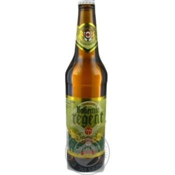Beer Bohemia regent Private import pasteurized 5% 500ml glass bottle