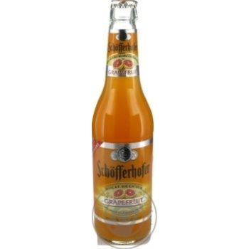 Пиво Schöfferhofer Grapefruit пшеничне 2,5% 330мл