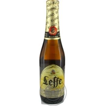 Leffe Blonde Beer 0,33l glass