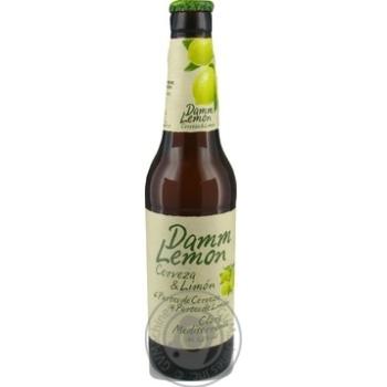Estrella Damm Lemon Light Beer 3,2% 0,33l - buy, prices for Auchan - photo 5