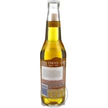 Пиво Кортес Текила светлое 6%об. 330мл - купить, цены на Novus - фото 6