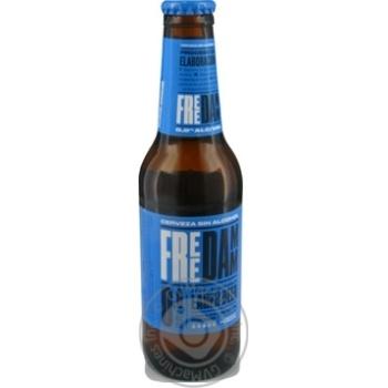 Пиво Estrella Damm безалкогольное солодовое светлое фильтрованное 0,25л