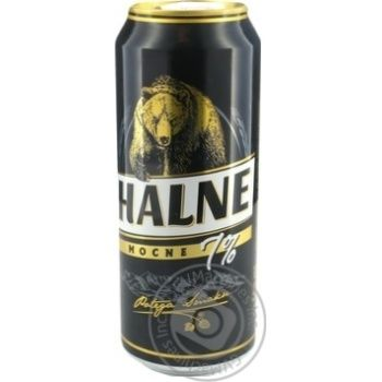 Пиво Halne Mocne светлое 7% 0,5л - купить, цены на Novus - фото 2