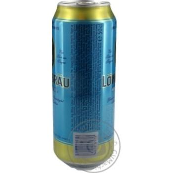 Пиво Lowenbrau Original светлое ж/б 5.2% 0,5л - купить, цены на Novus - фото 3