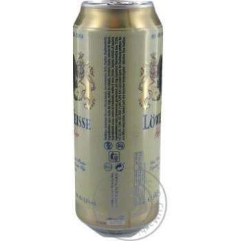Пиво Lowenbrau Weiz светлое 0,5л ж/б - купить, цены на Novus - фото 3