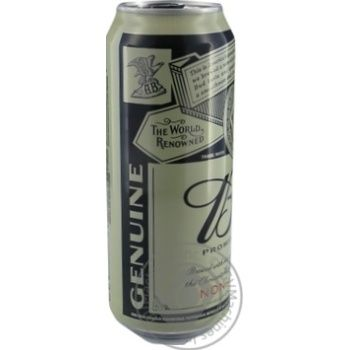 BUD Prohibition Brew non-alcoholic lager beer 0,5l can - buy, prices for Novus - image 2