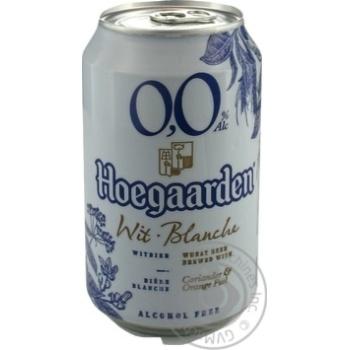 Пиво Hoegaardeh светлое безалкогольное 0,33л ж/б - купить, цены на Восторг - фото 2