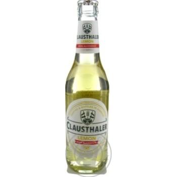 Пиво Clausthaler Lemon безалкогольное 0,33л