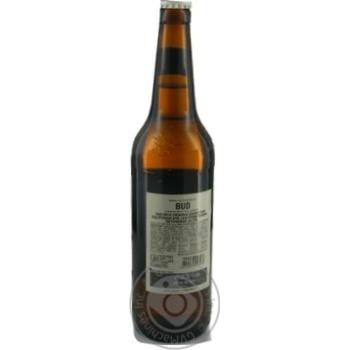 Пиво Bud Prohibition Brew светлое безалкогольное 0,5л стекло - купить, цены на Novus - фото 3