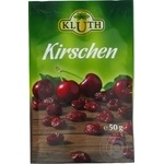 Dried fruits cherry Kluth dried 50g