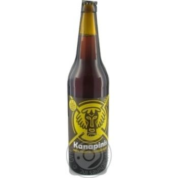 Пиво Kanapinis темное 5,3% 0,5л