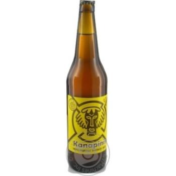 Пиво Kanapinis светлое 5,1% 0,5л