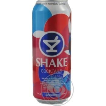 Напиток слабоалкогольный Шейк Дайкири 7%об. 500мл