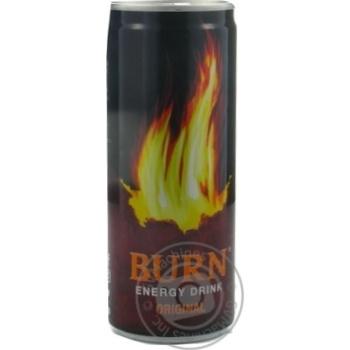 Energy drink Burn 250ml can