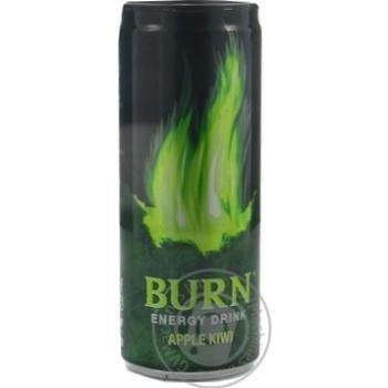 Energy drink Burn with apple 250ml