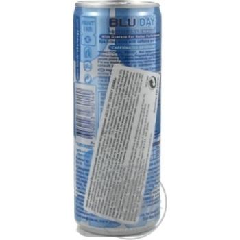 Напій енергетичний Blu Day Energy безалкогольний 250мл - купити, ціни на МегаМаркет - фото 2