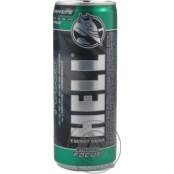 Напиток энергетический Hell Focus безалкогольный со вкусом манго и апельсина ж/б 0,25л