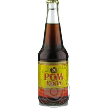 Напій Оболонь Ром Кола слабоалкогольний сильногазований 0,33л скло